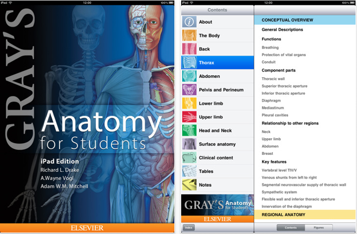 Gray\'s Anatomy for Students on iPad | anatomy UK