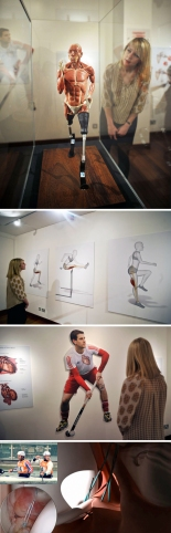 The Hunterian Museum Launches Its Anatomy Of An Athlete Exhibition In The Lead Up To The Olympics
