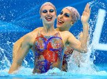Brazil Synchronised Swimmming